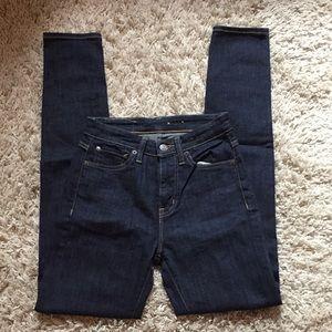 High waisted Denim & Supply skinny jeans